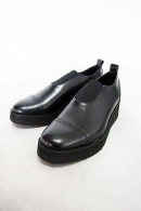 Sise LEATHER SHOES BLACK