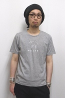 08sircus プリントカットソー TOP GRAY×WHITE
