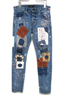 "【予約】OVERDESIGN 17FW NEW SKINNY ""WORKER"" SKY BLUE"