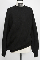 JULIUS 19FW DRAPING SWEATER_ju95