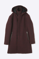 【予約】junhashimoto 19AW FOODED FLY FRONTCOAT_jh95