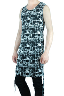MiDiom 19AW Printed Shirring Tanktop_md95