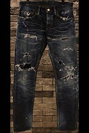 【予約】DELAY 15WT Chorus denim PT(CLASH加工)