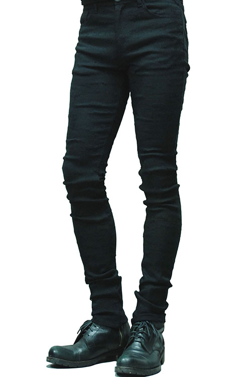 【10%OFF】MiDiom Damaged Stretch Skinny_mda5