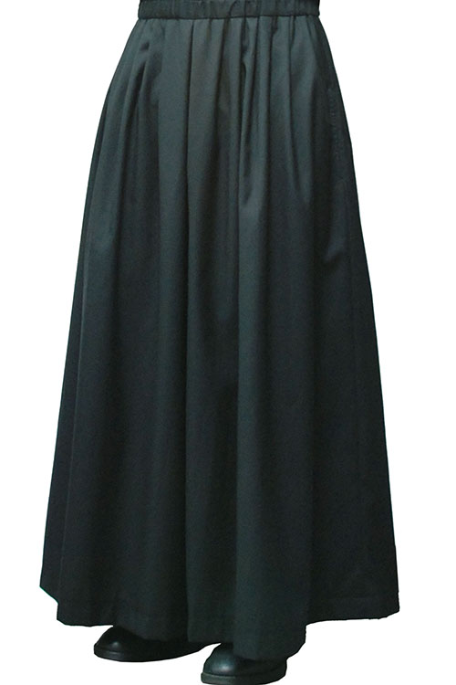 MiDiom 20AW Tuck Wide Pants_mda5